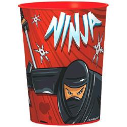 Ninja Favor 16 oz. Plastic Favor Cup