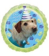 Party Pups 18'' Do I Smell Cake? Foil Balloon