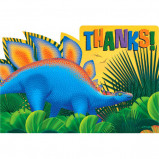 Prehistoric Dinosaurs Thank You Notes 8ct
