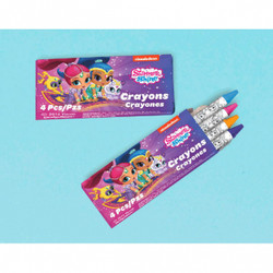 Shimmer and Shine Crayons Favors (12)