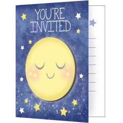 To the Moon and Back Invitations (8)