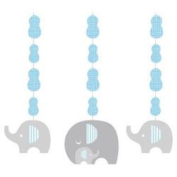Little Peanut Boy Elephant Hanging Cutouts