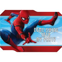 Spider-Man Homecoming Invitations 8ct
