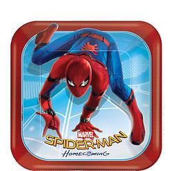 Spider-Man Homecoming Dessert Plates 8ct