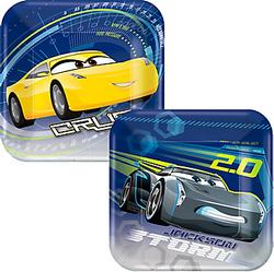 Cars 3 Dessert Plates 8ct