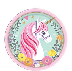 Magical Unicorn Dessert Plates 8ct