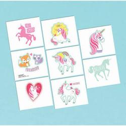 Magical Unicorn Temporary Tattoos (1 sheet)