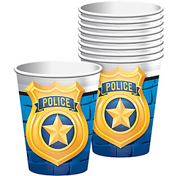 Police Cups 8ct