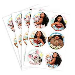 Moana Stickers 4 Sheets