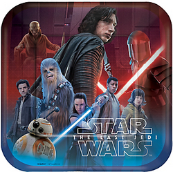 Star Wars 8 The Last Jedi Dinner Plates 8ct