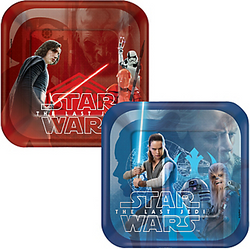 PHOTOS OVERVIEW Star Wars 8 The Last Jedi Dessert Plates 8ct
