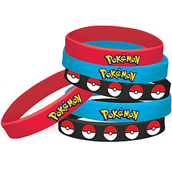 Pokemon Core Wristbands 4ct