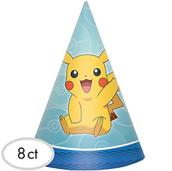 Pokemon Core Party Hats 8ct