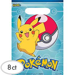 Pokemon Core Favor Bags 8ct