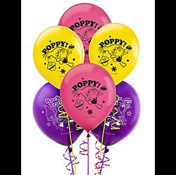 Trolls Latex Balloons 6ct