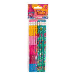 Trolls Pencils, 8ct