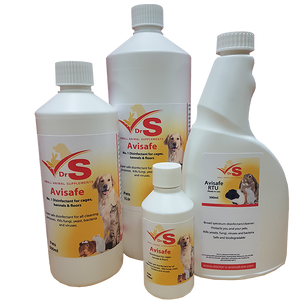 Disinfectant for small animals and pets.
