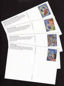 UX529-32 26c Art of Disney, Magic Mint Postal Cards