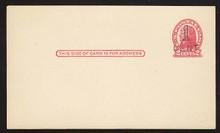 UX32 UPSS# S44-4, Boston Surcharge, Mint Postal Card
