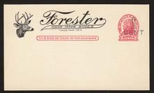 UX32 UPSS# S44-30, Ogden Surcharge, Unused Postal Card