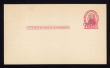 UX33 UPSS# S45-26, Minneapolis Surcharge, Clean Face Postal Card