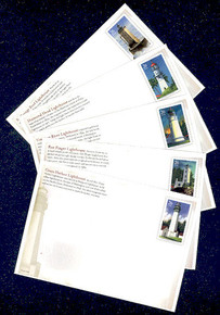 UX504-8 26c Pacific Lighthouses Mint Postal Cards