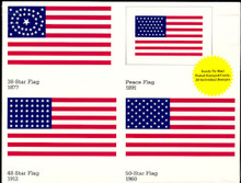 UX317-36 UPSS# 331-50 20c Stars & Stripes Mint Postal Cards