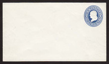 U74 UPSS # 144 1c Blue on White, Mint Entire