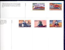 UX307-11 UPSS# 321-25 20c Famous Trains Mint Postal Cards