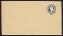 W77 UPSS# 153 1c Blue on Manila, Mint Wrapper, folded