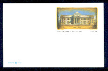 UX312 UPSS# 326 20c University of Utah Mint Postal Card