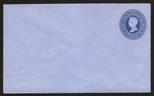 U175 UPSS # 466a 5c Blue on Blue, die 1, Mint Entire