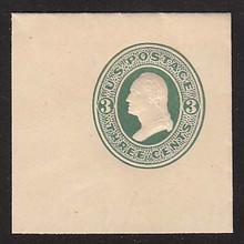 U84 3c Green on Cream, Mint Full Corner, 50 x 50