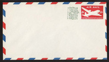 UC30 UPSS # AM-83-43 6c + 1c Carmine, type 1, Mint Entire