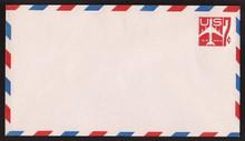 UC34 UPSS # AM-91-47 7c Jet Red Mint Entire