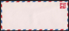 UC34 UPSS # AM-92-47 7c Jet Red Mint Entire