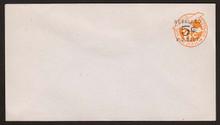 UC11 UPSS # AM-52-39 5c on 6c Orange, die 2b, Mint Entire