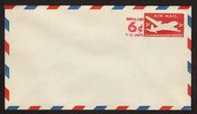 UC21 UPSS # AM-70-41 6c on 5c Carmine, die 1, Mint Entire