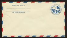 UC1 UPSS # AM-2-28a 5c Blue, die 1, Mint Entire