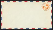 UC3 UPSS # AM-14-39 6c Orange, die 2a, Mint Entire