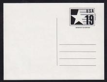 CVUX3, UPSS #PB3a1 19c Postal Buddy Mint Postal Card