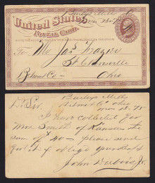 UX3 Burleys Mills, OH Manuscript DPO Canel Operated 1872/75