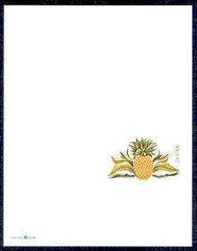 UY46 UPSS# MR56 26c Pineapple Mint UNFOLDED