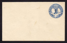 U348, UPSS #1133 with 1 1/2c Type 8 FAVOR Surcharge, Mint Entire