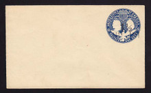 U348, UPSS #1141 with 1 1/2c Type 8 FAVOR Surcharge, Mint Entire