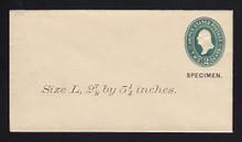 U311, UPSS # 923-8 Entire, Specimen Form 39