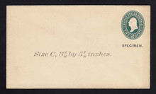 U311, UPSS # 928-8 Entire, Specimen Form 39