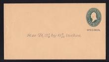 U313, UPSS # 973-8 Entire, Specimen Form 39