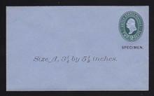 U314, UPSS # 984-8 Entire, Specimen Form 39