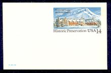 UX119 UPSS# S136 14c Timberline Lodge Mint Postal Card
